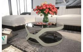Tavolino di design INFINITY (silver)