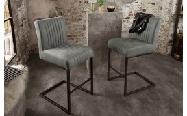Tabouret de bar VILLA ANTIK GREY