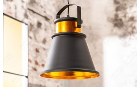 Suspension design LUS II 25 cm BLACK-GOLD