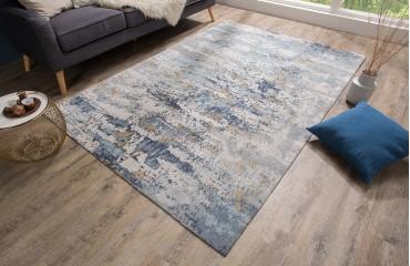 Designer Teppich ABSTRUSE BLUE NATIVO™ Möbel Schweiz