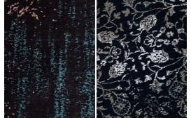 Tappeto di design LUWIAN DARK BLUE