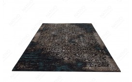 Tapis Design LUWIAN DARK BLUE
