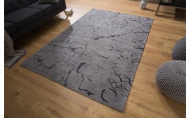 Tappeto di design SPLINTER GREY