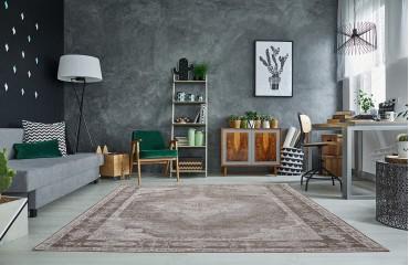 Designer Teppich ESTE GREY NATIVO™ Möbel Schweiz
