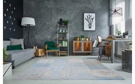 Designer Teppich ESTE II BLUE