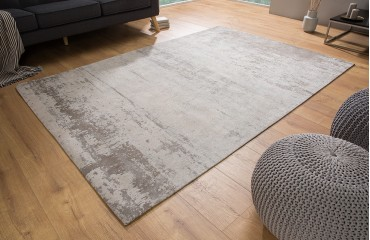 Tappeto di design NOVEL BEIGE-GREY