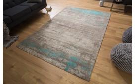 Designer Teppich NOVEL BEIGE-BLUE