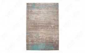 Tappeto di design NOVEL BEIGE-BLUE