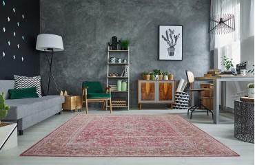 Designer Teppich BOHO ANTIK RED NATIVO™ Möbel Schweiz