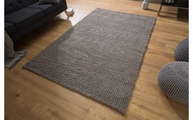Designer Teppich WULL BROWN