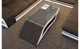 Tavolino di design HERMES (Nero / Bianco) IN STOCK