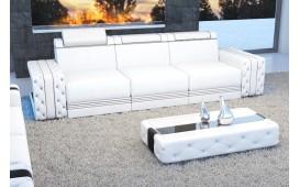 3 Sitzer Sofa IMPERIAL mit LED Beleuchtung (Weiss) AB LAGER NATIVO™ Möbel Schweiz