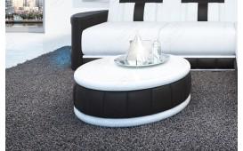 Table basse Design ATLANTIS (Blanc / Noir) - EN STOCK NATIVO™ Möbel Schweiz