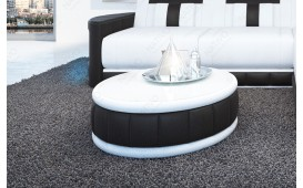 Tavolino di design ATLANTIS (Bianco / Nero) IN STOCK NATIVO™ Möbel Schweiz