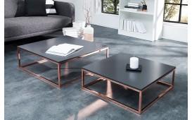 Designer Couchtisch UNITY ANTHRACIT SET 2 NATIVO™ Möbel Schweiz