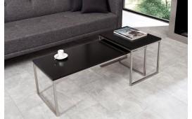 Table basse Design UNITY CONTRAST BLACK SET 2 NATIVO™ Möbel Schweiz