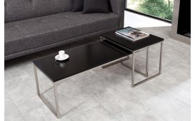 Tavolino di design UNITY CONTRAST BLACK SET 2 NATIVO™ Möbel Schweiz