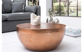 Table basse Design KUPA HALF COPPER 70 cm