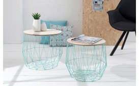 Designer Couchtisch CAGE MINT SET 2 NATIVO™ Möbel Schweiz