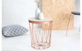 Tavolino di design CAGE II COPPER NATIVO™ Möbel Schweiz