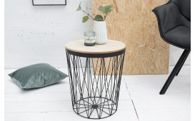 Table basse Design CAGE II BLACK NATIVO™ Möbel Schweiz