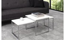 Table basse Design UNITY CONTRAST WHITE SET 2 NATIVO™ Möbel Schweiz