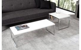 Designer Couchtisch UNITY CONTRAST WHITE SET 2 NATIVO™ Möbel Schweiz