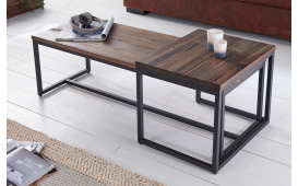 Table basse Design UNITY LONG SET 2