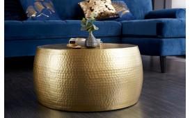 Designer Couchtisch KUPA GOLD II 60 cm
