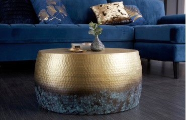 Table basse Design KUPA GOLD III 60 cm NATIVO™ Möbel Schweiz