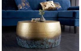 Table basse Design KUPA GOLD III 60 cm