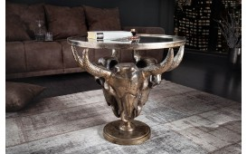 Table basse Design TORRERO BRONZE 56 cm