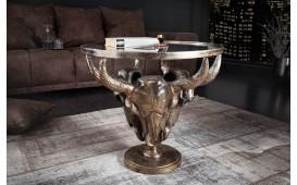 Table basse Design TORRERO BRONZE 56 cm