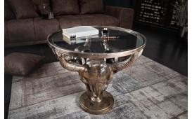 Table basse Design TORRERO BRONZE 56 cm NATIVO™ Möbel Schweiz