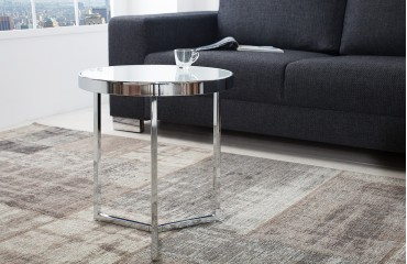 Designer Beistelltisch RONDEL SILVER NATIVO™ Möbel Schweiz