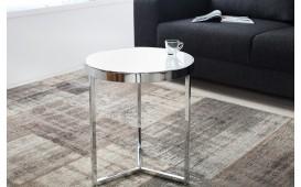 Table d'appoint Design RONDEL SILVER NATIVO™ Möbel Schweiz