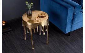Tavolino d'appoggio di design LIQUOR GOLD 51 cm