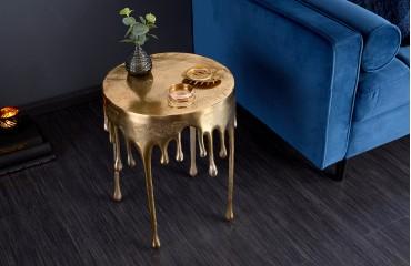 Designer Beistelltisch LIQUOR GOLD 51 cm NATIVO™ Möbel Schweiz