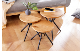 Table d'appoint Design FABRIK SET 3