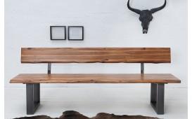 Banc Design ALMERE DARK 160 cm