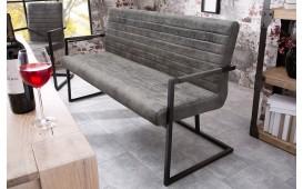 Designer Sitzbank RICH GREY