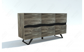 Buffet Design ALMARE GREY 160 cm