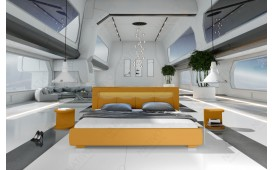 Letto di design MOON con illuminazione NATIVO™ Möbel Schweiz