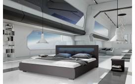 Lit tapissé MOON v2 avec éclairage NATIVO™ Möbel Schweiz