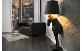 Lampadaire design BLACK LADY - EN STOCK