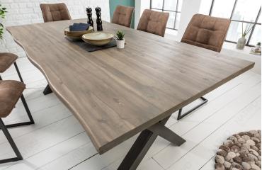 Table Design ALMARE GREY 160 cm NATIVO™ Möbel Schweiz
