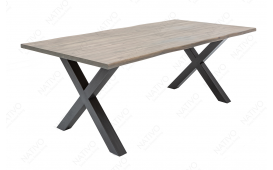 Tavolo da pranzo ALMARE GREY 160 cm NATIVO™ Möbel Schweiz