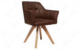 Chaise design RIFLE BROWN ANTIK NATIVO™ Möbel Schweiz