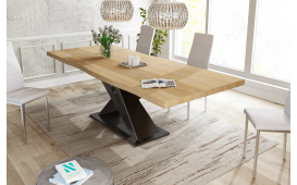 Table Design AVALON en bois massif - EN STOCK