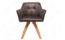 Sedia di design RIFLE GREY ANTIK NATIVO™ Möbel Schweiz